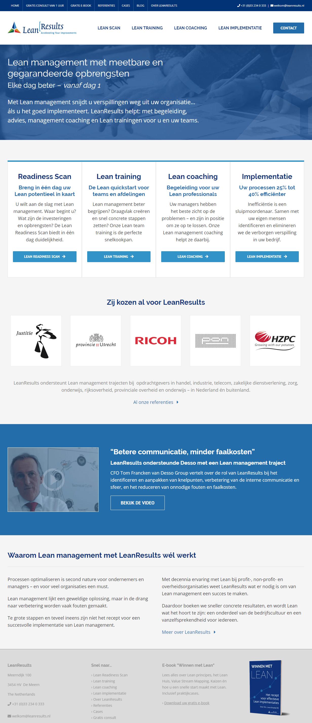 homepage voorbeeld 3