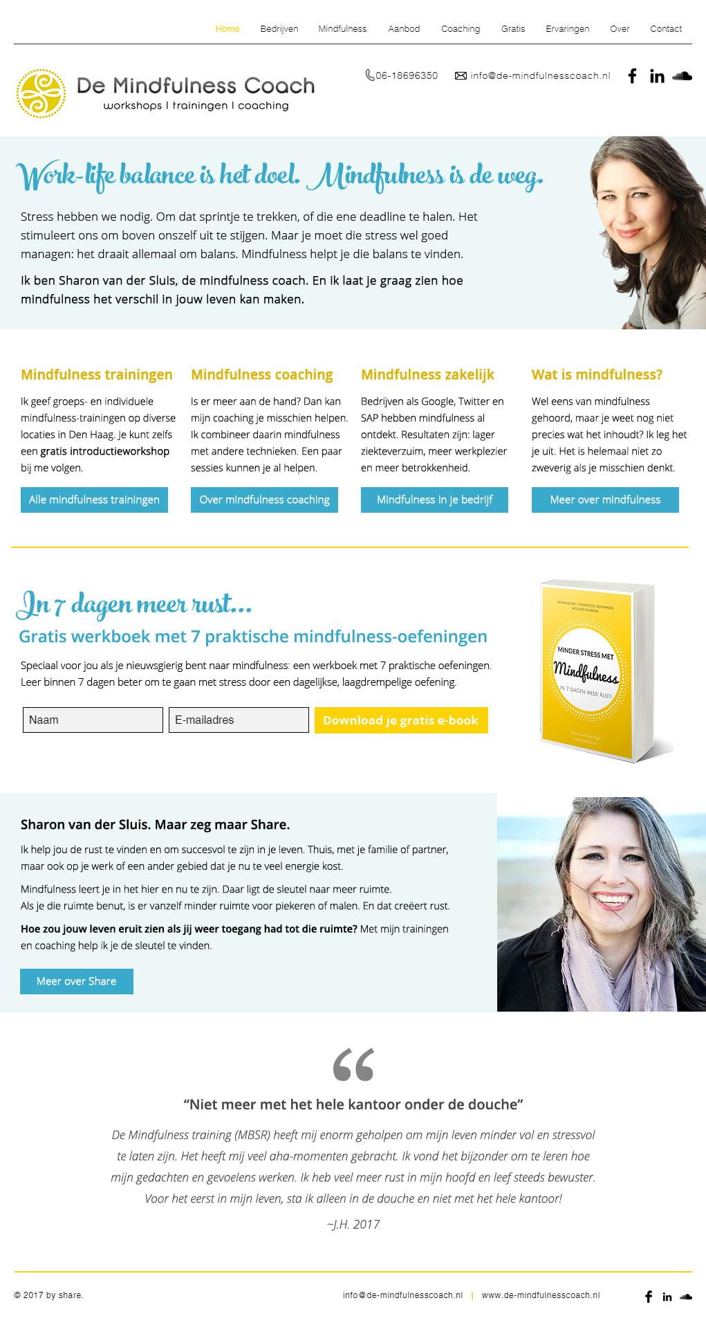 Goede homepage voorbeelden: homepage na make-over